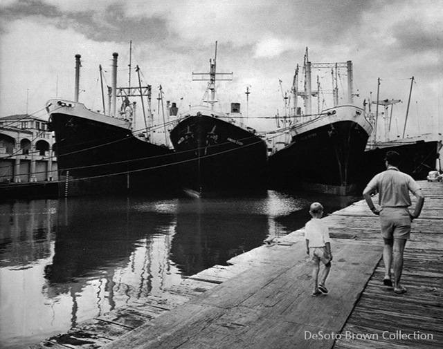 Matson Ships During 1962 Strike