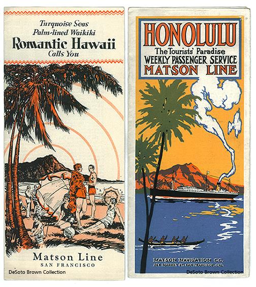 Matson Brochures